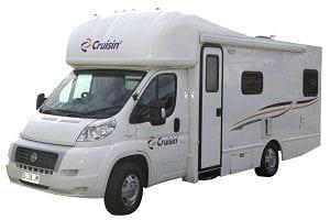 Cruisin Motorhomes - 4 Berth Seeker