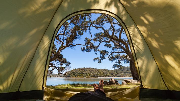 Camping at Mahurangi Regional Park in Auckland