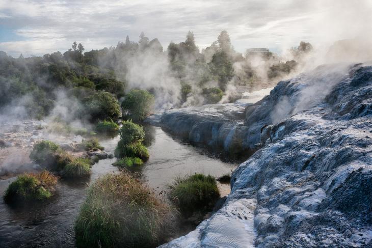 Whakarewarewa Thermal Park in Rotorua